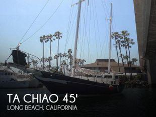 1972 Ta Chiao Formosa 45 Ketch