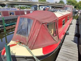 Phoebe 45ft cruiser stern built 2006 by Liverpool boats £35,995