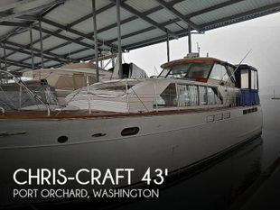 1963 Chris-Craft Constellation