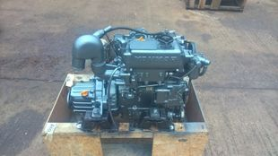Yanmar 2GM20F Marine Diesel Engine Breaking For Spares