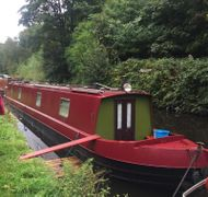 Charming 56 Foot Narrowboat