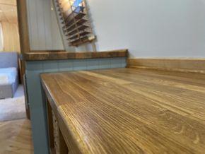 Solid oak worktops