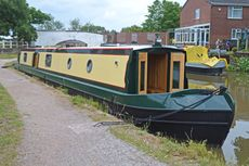 New 57ft Enhanced Square Cruiser Stern Narrowboat