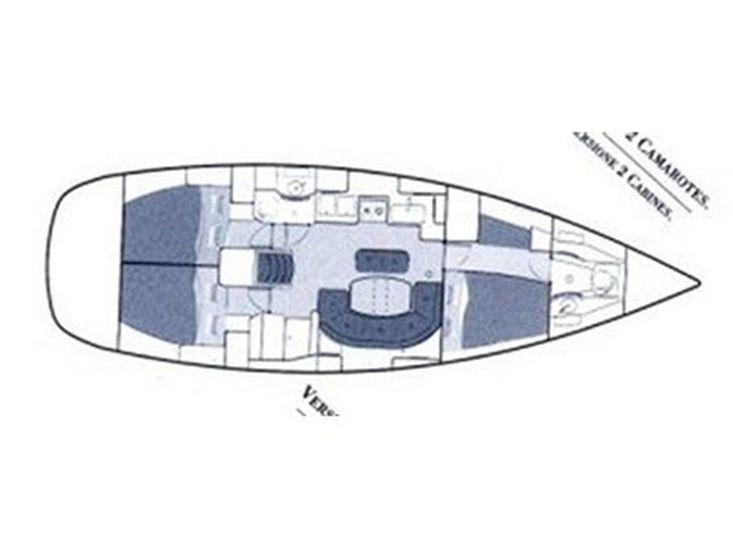 2003 OCEANIS 411 CELEBRATION