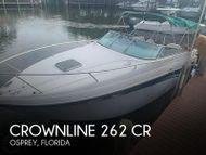 2002 Crownline 262 CR