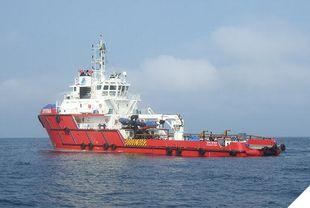158' Geared AHST Support Ship