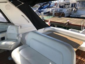 Helm seats view aft