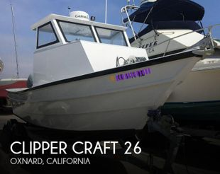1982 Clipper Craft 26 Dory