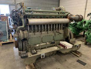 MWM TBD 601 6K 280 KW - 375 HP - 1350 RPM - SN 6010611374