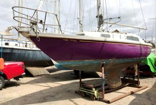Mystere Flyer, 26ft GRP fin keel sloop.