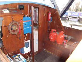 Captain's cabin