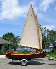 "Paul Gartside ""Riff"" Sailing Dinghy."