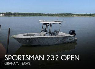2018 Sportsman 232 Open
