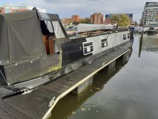 Under Offer Tim's Boat 50ft Cruiser Stern built 2007 Liverpool Boats.