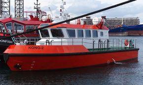 Fast crewboat