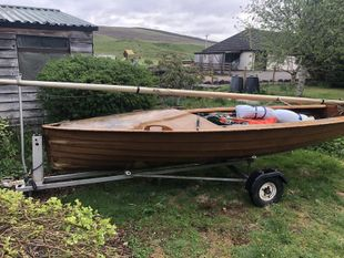 Merlin rocket sailing dingy