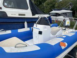 RIB-X 4.5m with Honda 50hp & Trailer
