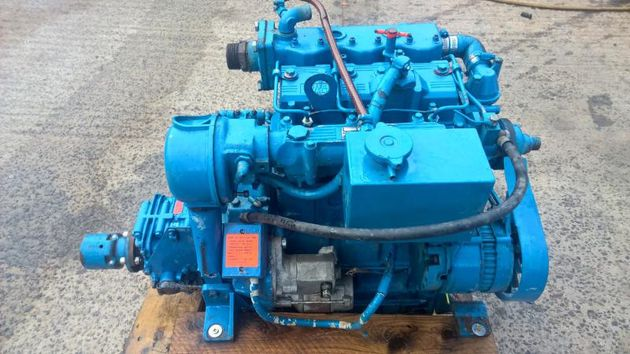 Lister LPW3 29hp Keel Cooled Marine Diesel Engine Under 250Hr From New