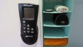 Remote controle for fresh air fan