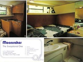 Moonraker 36 Complete Mould Tools - Interior