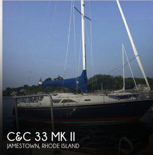 1986 C&C 33 MK II