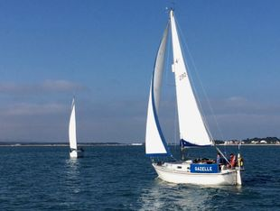 Westerly Konsort with new engine, gear box and standing rigging