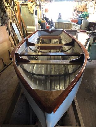 Brand New Hand Built (never used) Rowing Boat For Sale