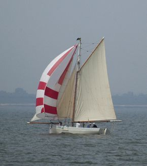racing in the Swale match