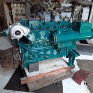 Volvo Penta TAMD 41 p incomplete engine for spare pares at India
