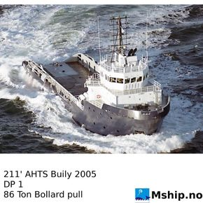 211' AHTS Built 2004   https://mship.no