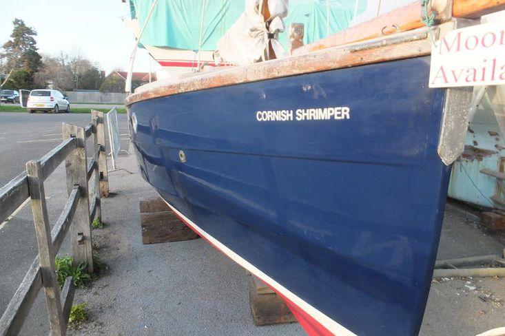SOLD BY BOSHAM YACHT SALES  Cornish  Shrimper