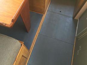 Boat floors (recently repainted)