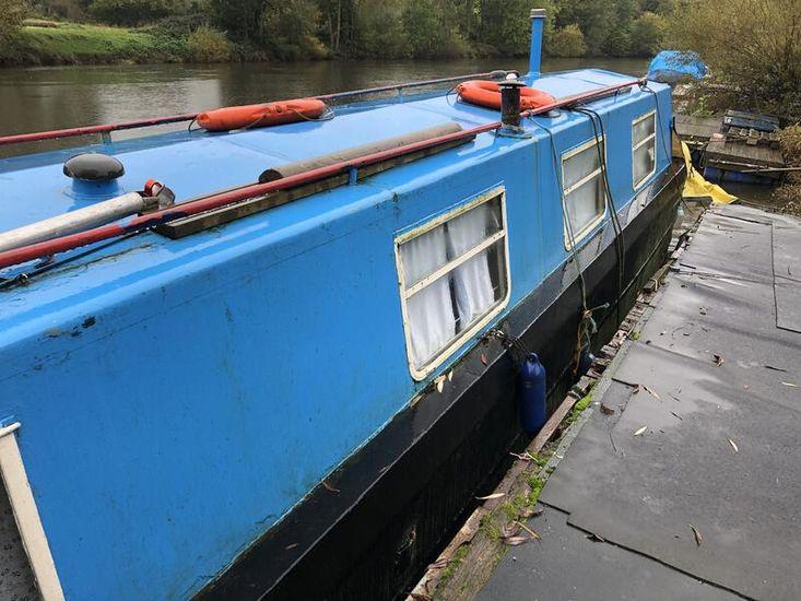 42ft Springer narrowboat - Rambler