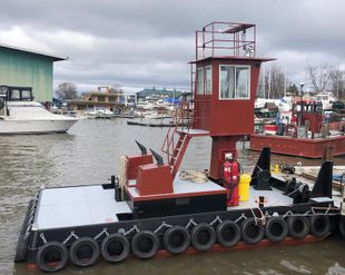25′ x 14′ x 4′ 2018 Truckable Tug for Charter