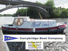 10 meter Dutch Barge (Tjalk)