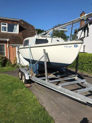 Mk1 Seawych Trailer Sailer Sailing Boat