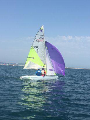 RS Feva 2008 sail no 2752