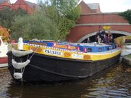 Historic British Barge