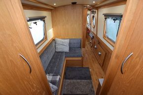 Rear cabin forward