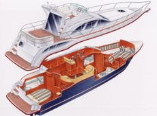 Viking Viki 34 Aft Cabin Layout