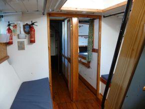 Looking Forward Crew Cabin/ Double