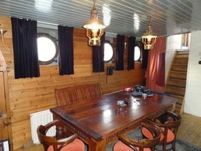Dining area in Galley