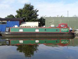 50ft Trad stern Narrowboat built 2007 by Canal Master Narrowboats & fi
