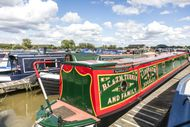 70ft Widebeam Moorings at Tattenhall Marina