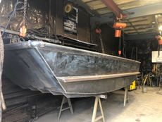 New 17′ x 5'6 Steel Work Boat – New Build