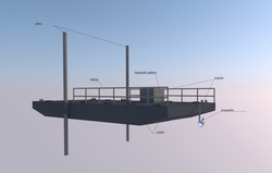 Budget-friendly spud leg pontoons