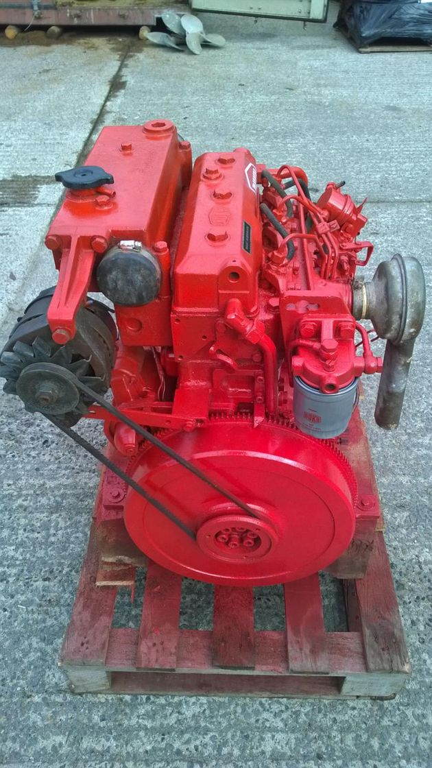 Bukh DV36 36hp Keel Cooled Narrowboat Engine Package