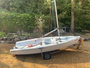 RS Feva XL with 2x sets of sails