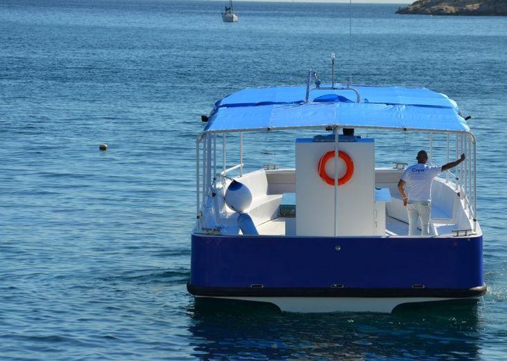 Motor Catamaran