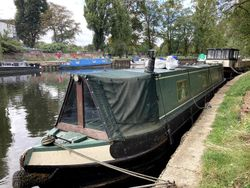 50ft Narrowboat with London mooring
